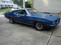1971 Pontiac LeMans T37 2-DR HT ..California Car ..All