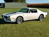 1971 Trans Am 455 HO up for your taking! This is a
