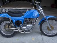 1971 Vintage Rickman Metisse Dirt Bike500cc Triumph
