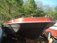 Classic Tri Hull Bowrider Needs seats and an outboard