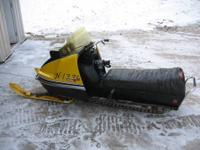 1971 340 SKI DOO TNT.... SINGLE CYLINDER; ONE