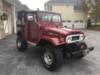 1971 Toyota Land Cruiser FJ40 Immaculate Restored.