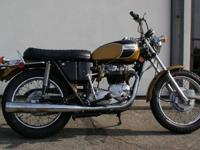 --Very nice condition for an unrestored Bonneville.
