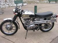 1972 Triumph Scrambler custom,new everything-motor