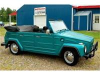 JusT Arrived For Sale 1971 VW Thing ResTored Volkswagen