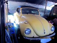 1971 VW Beetle convertible, Semi Automatic, 1600 cc