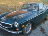 I bought this 1971 Volvo 1800e two door fuel injected
