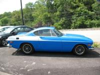 **** VERY RARE HARD TO FIND 1971 VOLVO P1800 4 SPEED