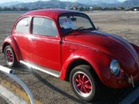 Vw beetle classic for sale 1971 runs good California