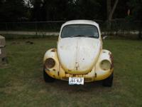 I have a 1971 Bug for sale it was a running bug up
