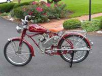 1951 Whizzer Pacemaker Motor Bike with 700 motor and