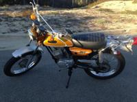 1971 Yamaha CT-1C 175 enduro in very good condition as