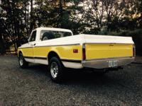 1971 C-20 Chevy Truck 350 V8, Automatic, Mallory HEI