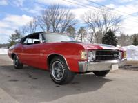 1971 Chevrolet Chevelle SS  For this year 9,502 models