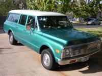 Up for sale is my 1971 Chevy Suburban. This has been my