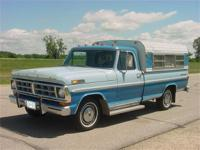 1971 Ford 1/2 ton long box pickup. Only 48,000 miles on