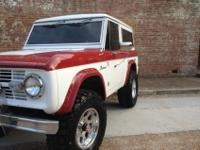 This Bronco was then stripped of its 302 and 3 speed