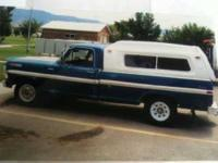 1971 Ford F250 1971 Ford 250 Camper Special Propane and