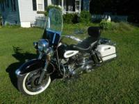 1971 Harley Davidson FLH This is not a bone-stock bike,