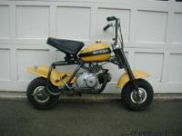 1971 Honda QA50 minibike.50cc 2 speed semi-automatic