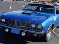 1971 Plymouth Barracuda Cuda 426 Hemi Convertible
