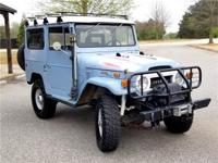 1971 Toyota Land Cruiser FJ40.3-Speed Speed