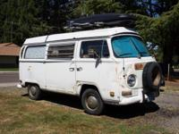 1971 Westy, excellent condition on the in, needs some