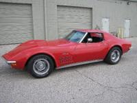 I am offering 2 Corvettes I have;. 1972 - 4spd, A/C,