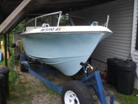 I have a 1972 21ft Cobia for sale with a very nice