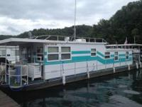 1972 Aluminum Hull houseboat 13x49 for sale. Compact