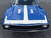 This is a 1972 AMC Javelin SST that has been recreated