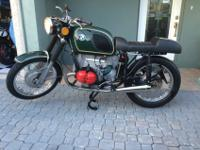 1972 BMW r50/5 TRIPLE NUMBERS MATCHING CLEAR FLORIDA
