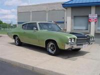 Amazing 1972 Buick Skylark Custom - 2 Door Hardtop.