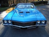 This 1972 Buick Skylark Convertible is finished in