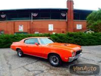 *This rare 1972 Buick Skylark Gran Sport has 455 cubic