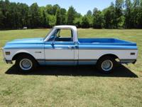 I HAVE A 1972 C-10 CHEVROLET CHEVY TRUCK TOTAL RESTORE