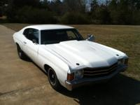 I have my 1972 Chevelle for sale New paint and