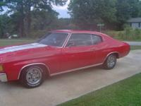 1972 Chevelle No rust at all . Original engine matching