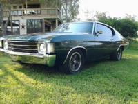 1972 chevelle malibu 75000 original mile on car fresh
