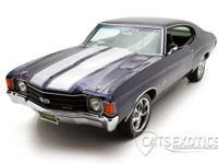 1972 Chevelle SS 454 finished in Midnight Blue over