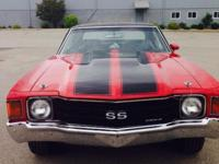 1972 Chevelle SS Clone has been beautifully restored