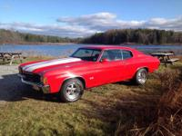 1972 Chevelle SS454 Tribute car bored out to 461c.i.