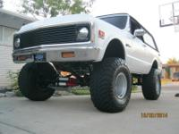 ONE BAD ASSCUSTOM 1972 CHEVY K5 BLAZER