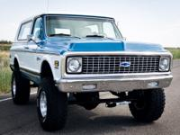 This RARE condition 1972 Chevy K5 Blazer is all