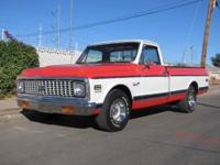 Offered for sale is this 1972 Chevrolet C10 Super