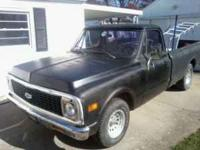 1972 C10. AUTOMATIC WITH A 305. DECENT TRUCK, NEEDS