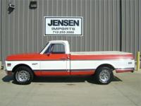 This 1972 Chevrolet 3/4 ton Cheyenne Super 20 is a
