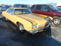 1972 Chevrolet Caprice for sale. Title in hand. 86,000