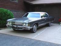 This 1972 Chevrolet Caprice 4-door Hardtop is an