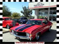 We are offering a 1972 Chevrolet Chevelle SS 454